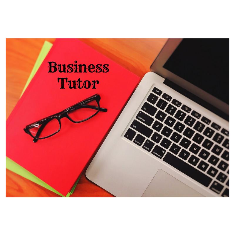 Business Tutoring Services