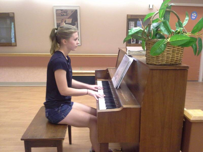 Piano performance - Alisha B
