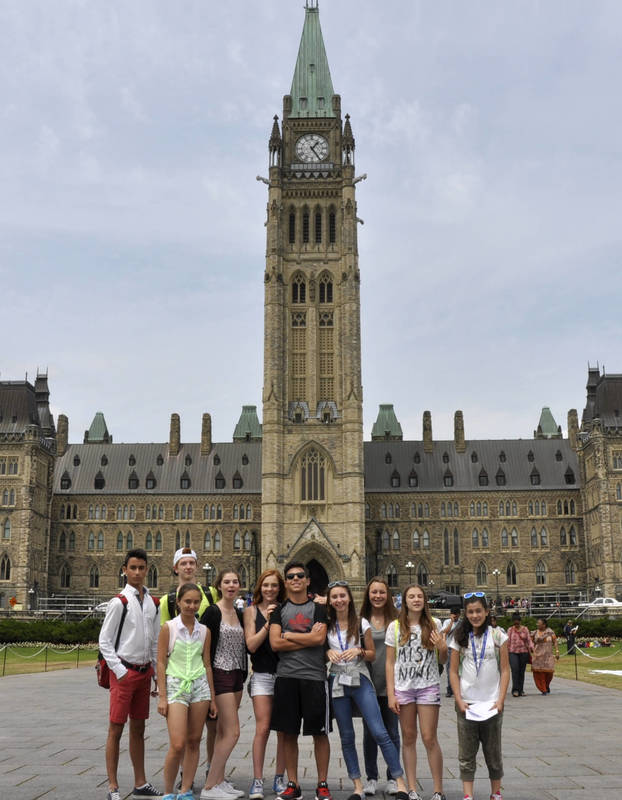 Over 30 different nationalities attend each summer!