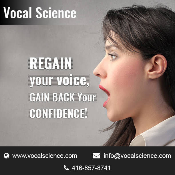Vocal Science - Regain Your Voice, Regain Your Life!