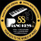 88 Piano Keys